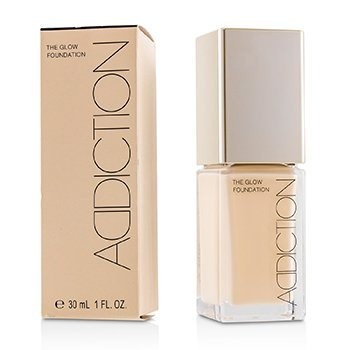 ADDICTION The Glow Foundation SPF 20 - # 001 (Porcelain)