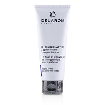 DELAROM Eye Make-Up Remover Gel - For Normal to Sensitive Skin