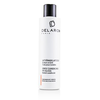 DELAROM Gentle Cleansing Milk - For Normal to Sensitive Skin