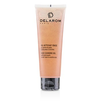 DELAROM Face Cleansing Gel - For All Skin Types to Sensitive Skin