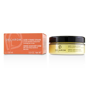DELAROM Orange Sugar Body Scrub