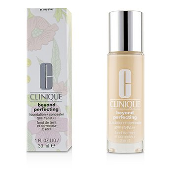Clinique Beyond Perfecting Foundation + Concealer SPF 19 - # 61 Ivory