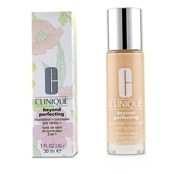 Clinique Beyond Perfecting Foundation + Concealer SPF 19 - # 64 Cream Beige