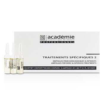 Academie Specific Treatments 2 Ampoules Complexe Vitamine A&E (Oily Yellow) - Salon Product
