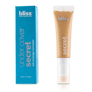 Bliss Under Cover Secret Full Coverage Concealer - # Natural