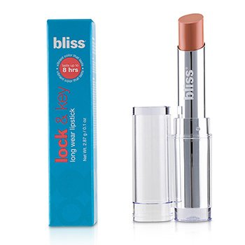 Bliss Lock & Key Long Wear Lipstick - # Popa Dont Peach