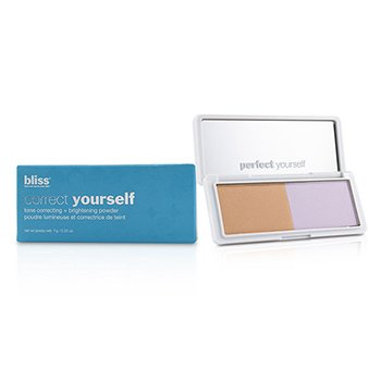 Bliss Correct Yourself Tone Correcting + Brightening Powder - # Peach/Lavender
