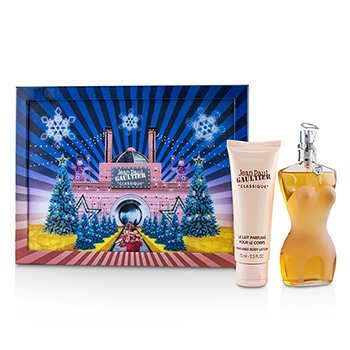 Jean Paul Gaultier Classique Coffret: Eau De Toilette Spray 100ml + Perfumed Body Lotion 75ml