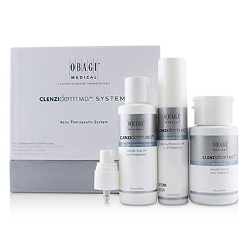 Obagi Clenziderm M.D. Acne Therapeutic System: Cleanser 118ml + Pore Therapy 148ml + Therapeutic Lotion 47ml