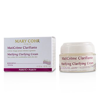 Mary Cohr Matifying Clarifying Cream - Face Cream For Combination & Oily Skin