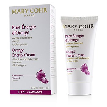 Mary Cohr Orange Energy Cream - Vitamin-Enriched Cream - For All Skin Types