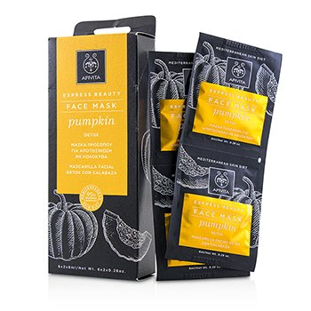 Apivita Express Beauty Face Mask with Pumpkin (Detox)