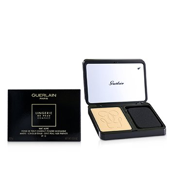 Guerlain Lingerie De Peau Mat Alive Buildable Compact Powder Foundation SPF 15 - # 04N Medium