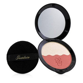 Guerlain Two Tone Blush (Blush & Highlighter) - # 03 Soft Coral