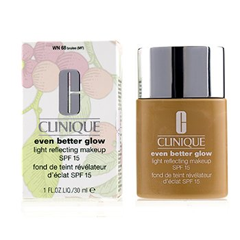 Clinique Even Better Glow Light Reflecting Makeup SPF 15 - # WN 68 Brulee
