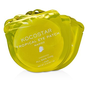 KOCOSTAR Tropical Eye Patch Unscented - Mango (Individually packed)