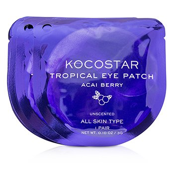 KOCOSTAR Tropical Eye Patch Unscented - Acai Berry (Individually packed)
