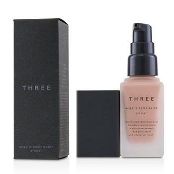THREE Angelic Complexion Primer SPF22 - # 01 Pink Petal