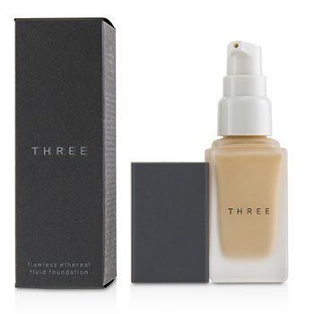 THREE Flawless Ethereal Fluid Foundation SPF36 - # 102