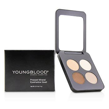 Youngblood Pressed Mineral Eyeshadow Quad - City Chic