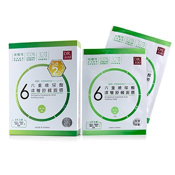 DR. JOU (By Dr. Morita) Six Essence Hyaluronic Acid Soothing Mask
