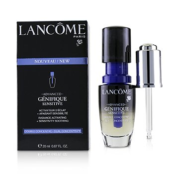 Lancome Advanced Genifique Sensitive Radiance Activating + Sensitivity Soothing Dual Concentrate