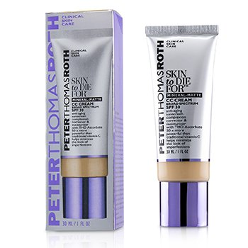 Peter Thomas Roth Skin to Die For Mineral Matte CC Cream SPF 30 - #Medium