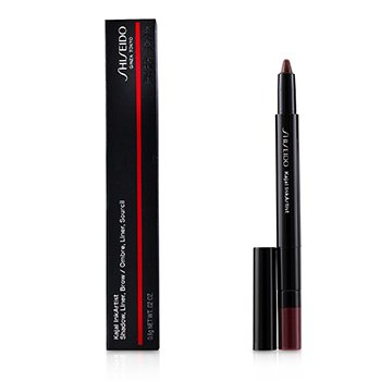 Shiseido Kajal InkArtist (Shadow, Liner, Brow) - # 04 Azuki Red (Crimson)