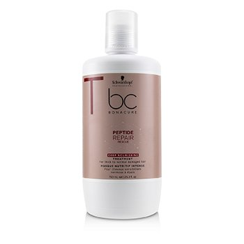Schwarzkopf BC Bonacure Peptide Repair Rescue Deep Nourishing Treatment (For Thick to Normal Damaged Hair)