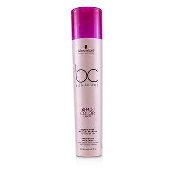 Schwarzkopf BC Bonacure pH 4.5 Color Freeze Sulfate-Free Micellar Shampoo (For Coloured Hair)