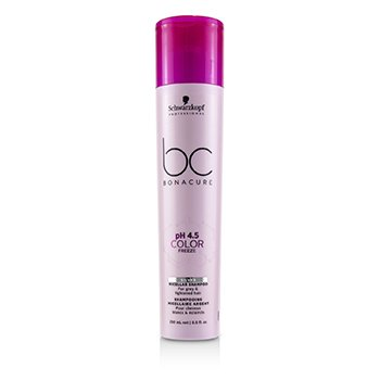 Schwarzkopf BC Bonacure pH 4.5 Color Freeze Silver Micellar Shampoo (For Grey & Lightened Hair)