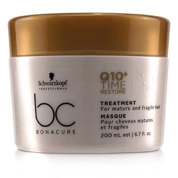 Schwarzkopf BC Bonacure Q10+ Time Restore Treatment (For Mature and Fragile Hair)