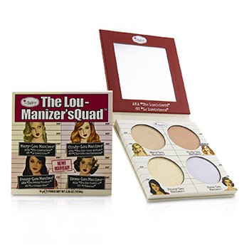 TheBalm The Lou Manizers Quad (Highlighter)