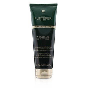 Rene Furterer Absolue Kèratine Restoring Ritual Ultimate Renewal Mask - Extremely Damaged, Brittle Hair (Salon Product)