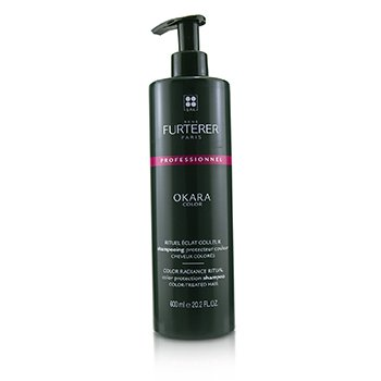 Rene Furterer Okara Color Color Radiance Ritual Color Protection Shampoo - Color-Treated Hair (Salon Product)
