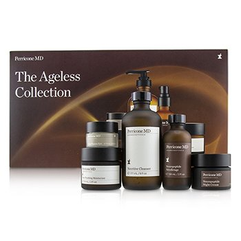 Perricone MD The Ageless Collection: Nutritive Cleanser+Face Finish Moisturizer+Neuropeptide Night Cream+Cold Plasma Eye+Neuropeptide Necolletage