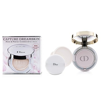 Christian Dior Capture Dreamskin Moist & Perfect Cushion SPF 50 With Extra Refill - # 000