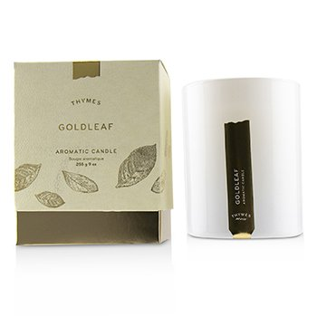 Thymes Aromatic Candle - Goldleaf