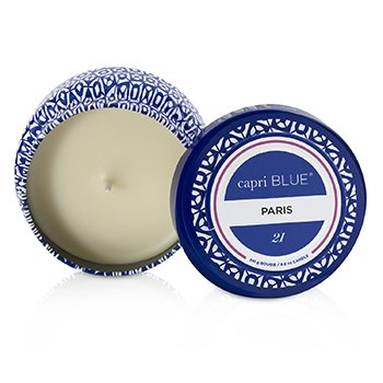 Capri Blue Printed Travel Tin Candle - Paris