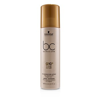 Schwarzkopf BC Bonacure Q10+ Time Restore Rejuvenating Spray (For Mature and Fragile Hair)