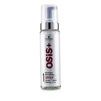 Schwarzkopf Osis+ Topped Up Gentle Hold Mousse (Light Control)