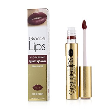 GrandeLash GrandeLIPS Plumping Liquid Lipstick (Semi Matte) - # Red Delicious