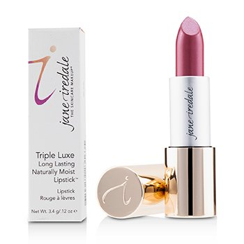 Jane Iredale Triple Luxe Long Lasting Naturally Moist Lipstick - # Ella (Deep Rose Brown)
