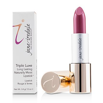 Jane Iredale Triple Luxe Long Lasting Naturally Moist Lipstick - # Joanna (Plum With Pink Undertones)