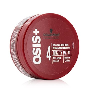 Schwarzkopf Osis+ Mighty Matte Ultra Strong Matte Cream - Ultra Strong (Exp. Date: 10/2019)