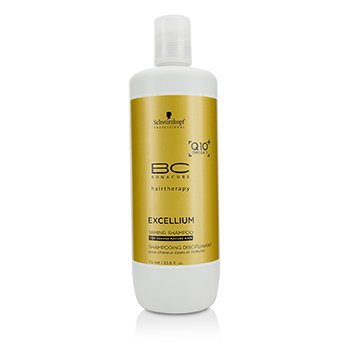 Schwarzkopf BC Excellium Q10+ Omega 3 Taming Shampoo - For Coarse Mature Hair (Exp. Date: 11/2019)