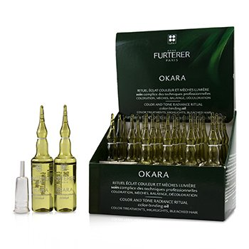 Rene Furterer Okara Color and Tone Radiance Ritual Color-Binding Oil (Color Treatments, Highlights, Bleached Hair)
