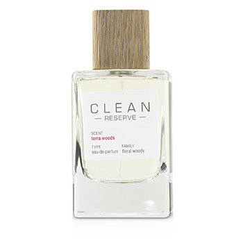 Clean Clean Terra Woods (Reserve Blend) Eau De Parfum Spray