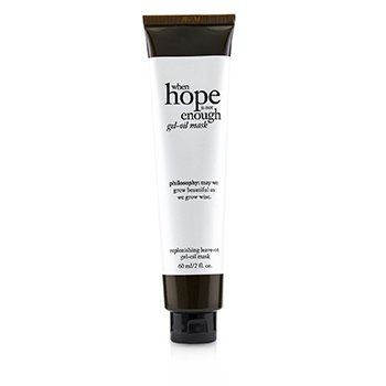 Philosophy When Hope Is Not Enough Gel Oil Mask
