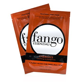 Borghese Fango Essenziali Energize Treatment Sheet Masks